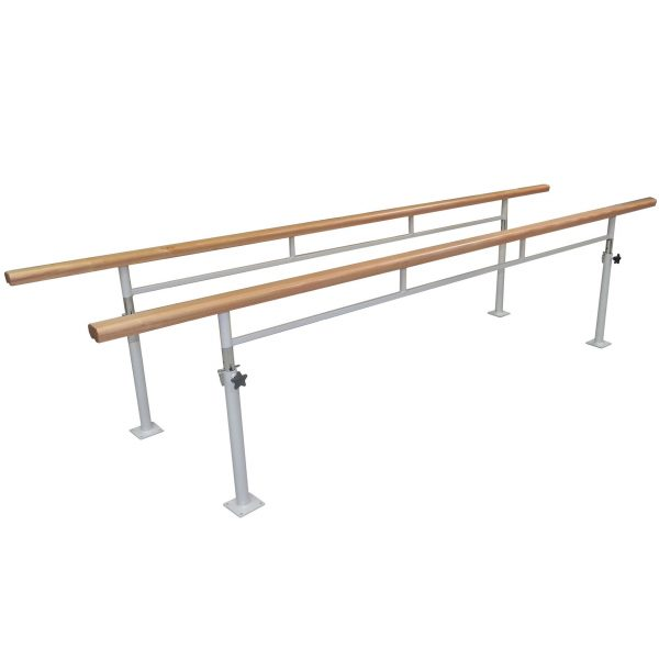 AusCo-Parrallel-Walking-Bars-Fixed-Timber