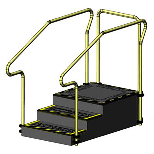 AusCo Training Stairs Dead End 3Access+