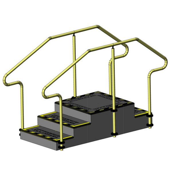 AusCo Training Stairs Up Over 3Access