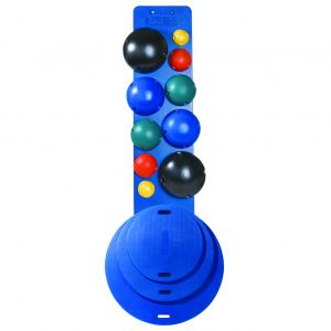 CanDo MVP Balance System 10 Ball Set with Rack