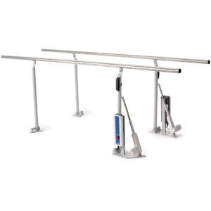 HealthTec Electric Height Adjustable Parallel Walking Rails 1