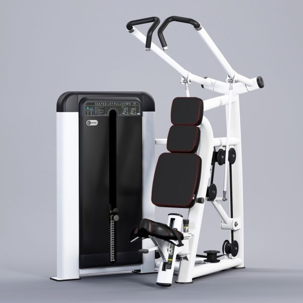 Pulse-Fitness-H-Series-Seated-Lat-Pulldown-382H-White