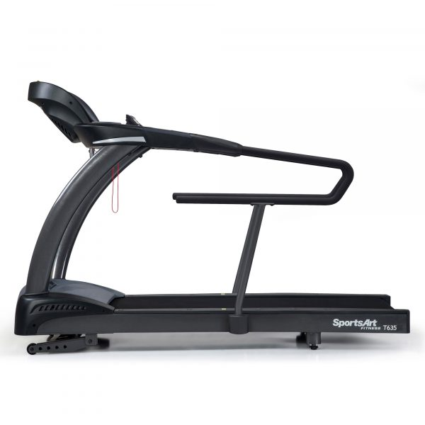 SportsArt T635A Treadmill Side Medical Handrails