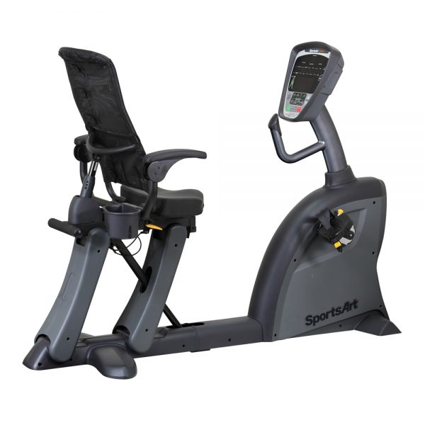SportsArt C521M Recumbent Cycle Right Angle
