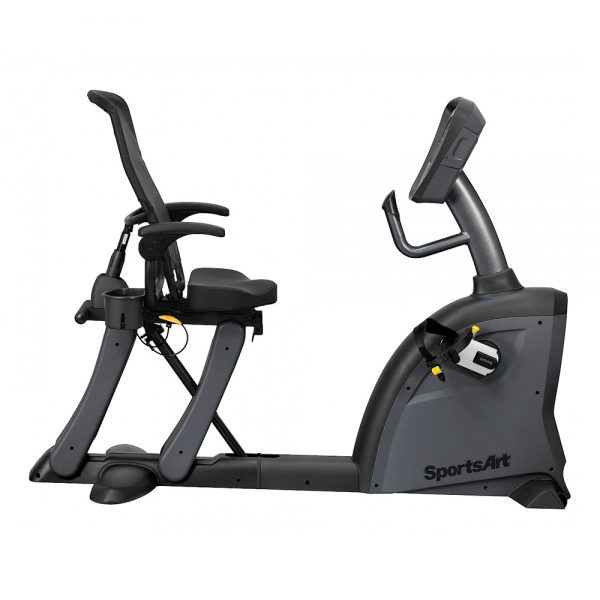 SportsArt C521M Recumbent Cycle Right Side