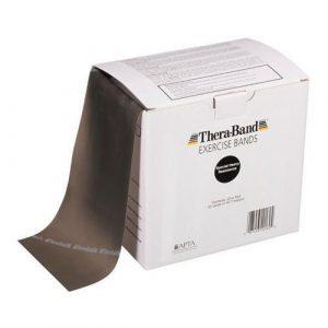 Theraband 46m Black Band Box
