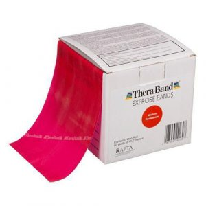 Theraband 46m Red Medium Band Box
