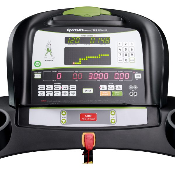 SportsArt-T635M-Medical-Treadmill-Console