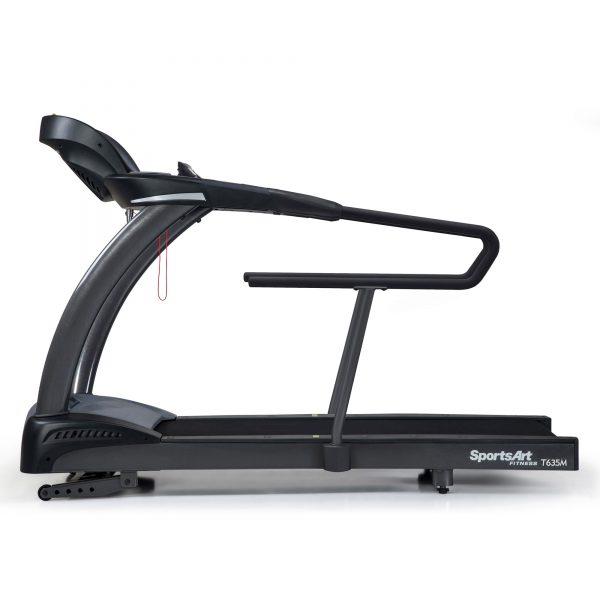 SportsArt-T635M-Medical-Treadmill-Side