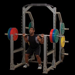 BodySolid SMR1000 multi squat rack Model