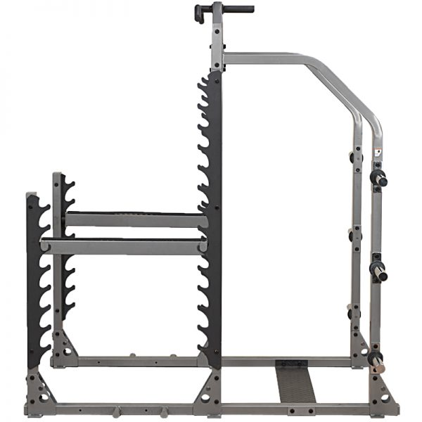 BodySolid SMR1000 multi squat rack Side