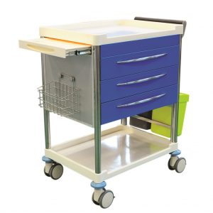 CubicHealth Treatment Trolley 3 Drawer