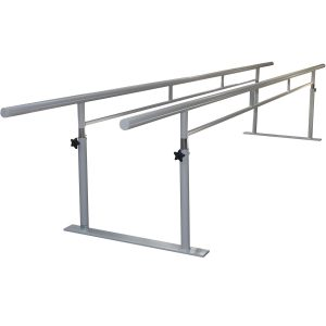 AusCo Parallel Walking Bars FreeStanding Folding Metal