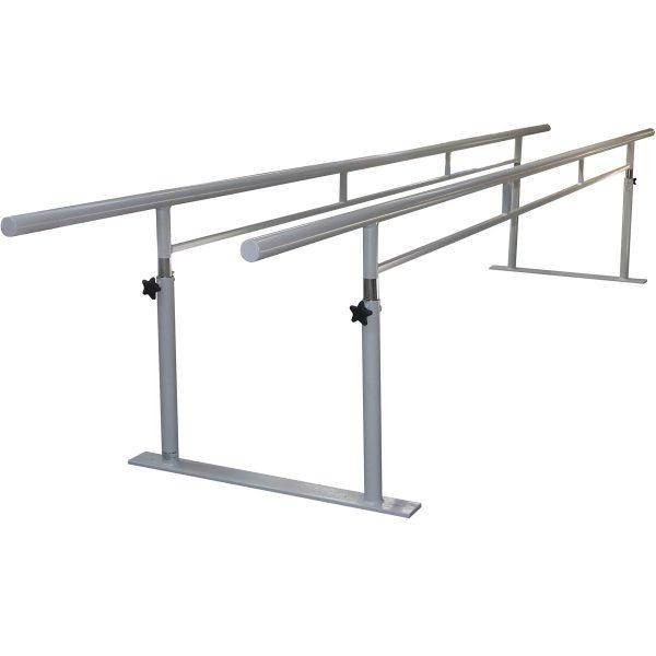 AusCo Parallel Walking Bars FreeStanding Folding Metal