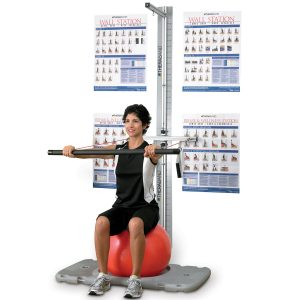Theraband Rehab Exercise Wall Station