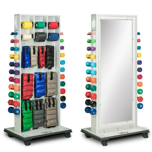 Cubic Storage Mirror Treatment Rack Both 1200