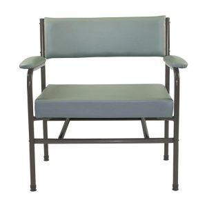 AusCo Low Back Chair Bariatric Grey
