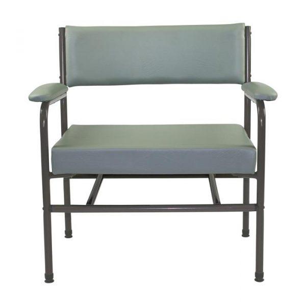 AusCo Low Back Chair Bariatric Grey