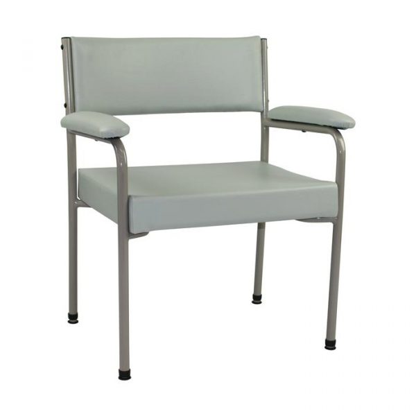 AusCo Low Back Chair Wide Grey