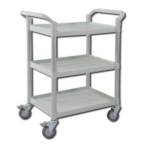 CubicHealth Storage Trolley 3 Shelves ST302